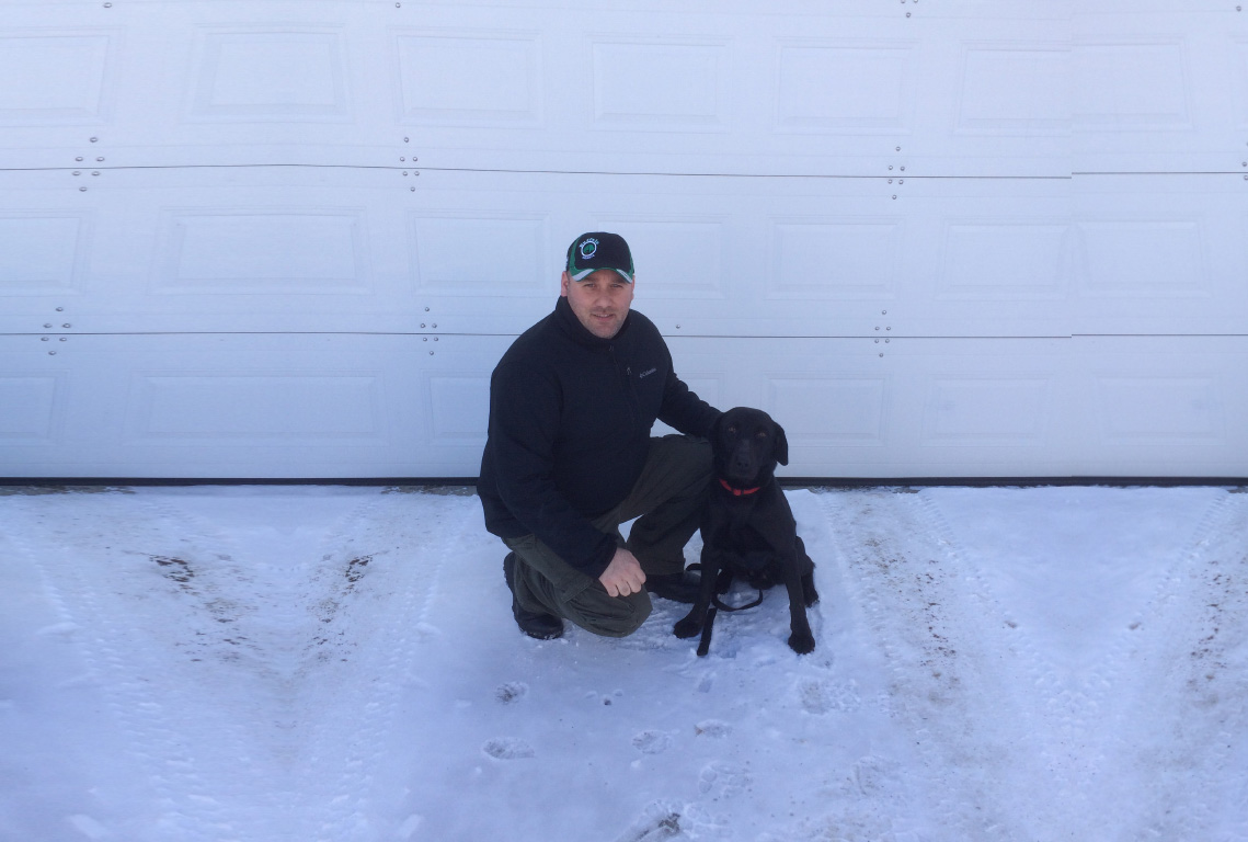 Northern Ontario Drug Detection Dog.